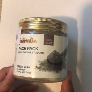 Green clay face mask powder (unopened)